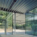 Büro- und Ausstellungspavillon Bene – Zumtobel Staff Foto: Paul Ott