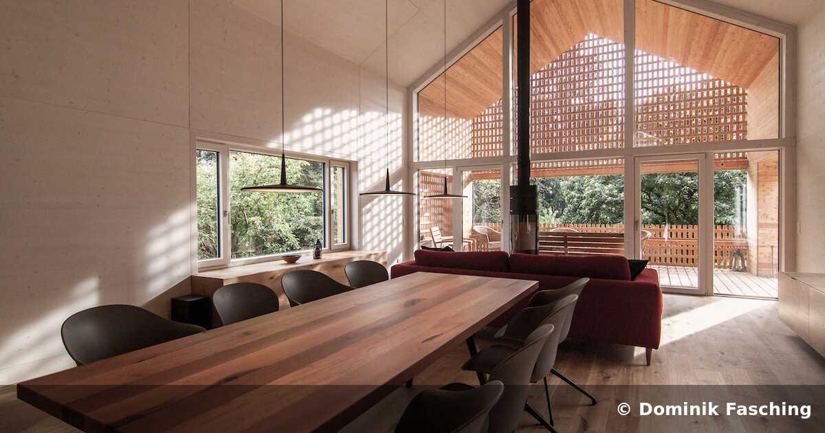 Haus auf der Höhe, Klaura I Horvath Lendarchitektur - Wölfnitz (A) - 2017. Foto: Dominik Fasching