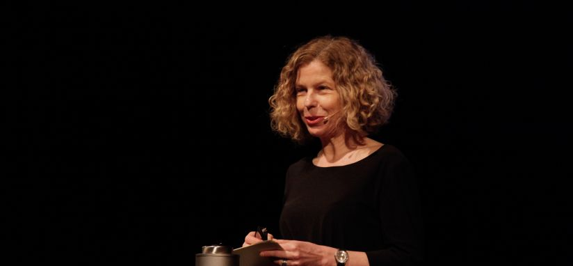 Margit Ulama, fotografiert von Ulrich Dertschei