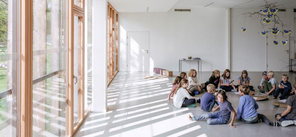 Volksschule Mariagrün, Foto: Simon Oberhofer