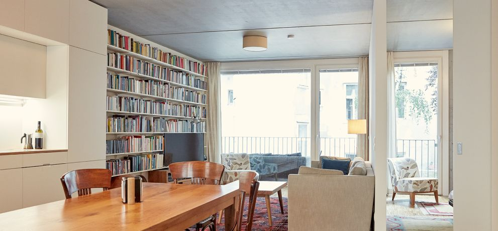 Baugruppe H81, Architektur:  KABE ARCHITEKTEN, Foto: Christina Häusler