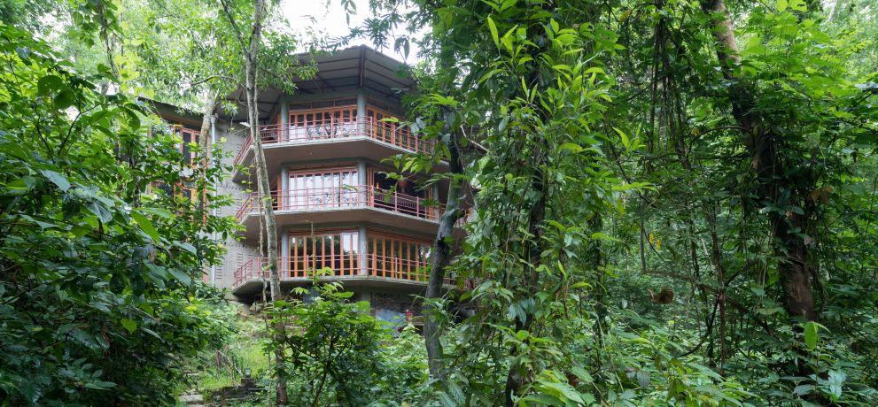 Shuktara Nature Retreat, Khadimnagar, Sylhet. Architektur: Zarina Hossain, Copyright: Iwan Baan