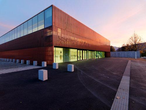 Sporthalle St. Martin, Foto: Paul Ott
