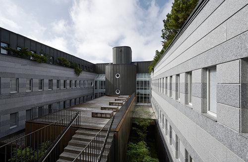 Gerichtsgebäude Steyr - Erweiterung, Foto: Walter Ebenhofer