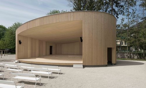 Musikpavillon Bad Ischl, Foto: Simon Bauer