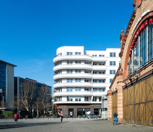 Campus Bockenheim, Foto: Lisa Farkas