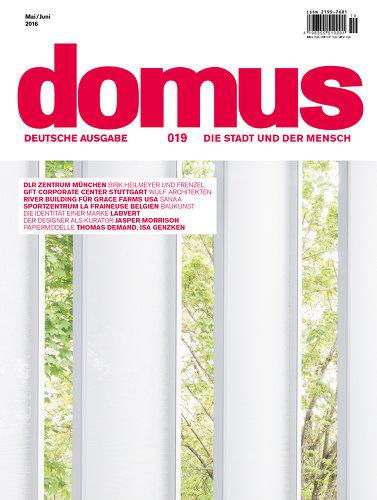 domus deutsche ausgabe 16 019. Black Bedroom Furniture Sets. Home Design Ideas