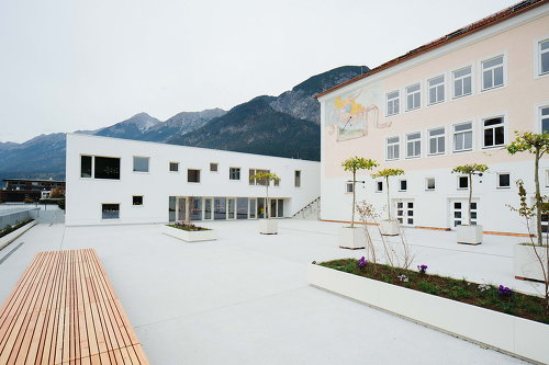 Volksschule Absam Dorf, Foto: Bengt Stiller