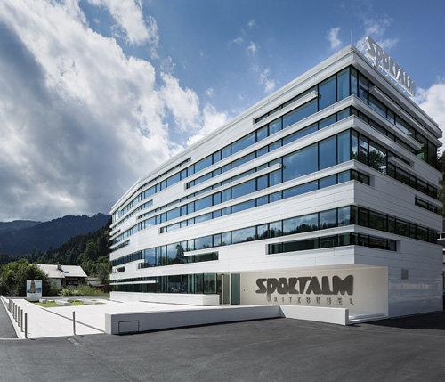 Headquarter Sportalm Kitzbühel, Foto: Hanno Mackowitz