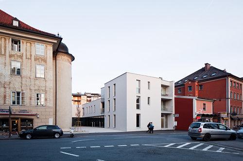 Seniorenwohnanlage mit Stadtteilzentrum Wilten, Foto: Christian Flatscher