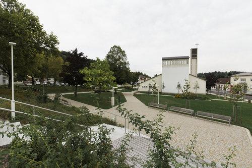 Kirchenpark, Foto: Rainer Schoditsch