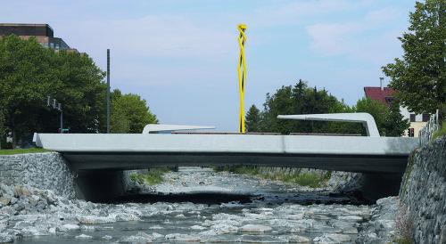 Sägerbrücke, Pressebild: Günter König