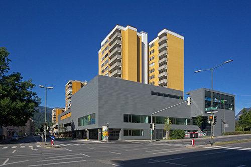 AZW – Ausbildungszentrum West für Gesundheitsberufe, Foto: Günter Richard Wett