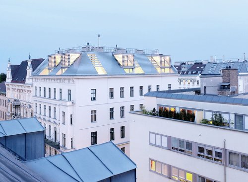 Dachbodenausbau Lederergasse, Foto: Jörg Seiler