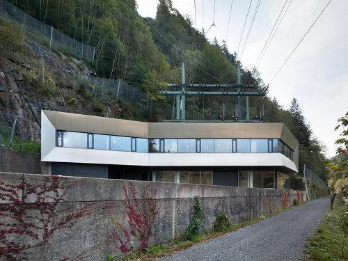 Vorarlberger Kraftwerke - Langenegg, Foto: Dietrich | Untertrifaller Architekten