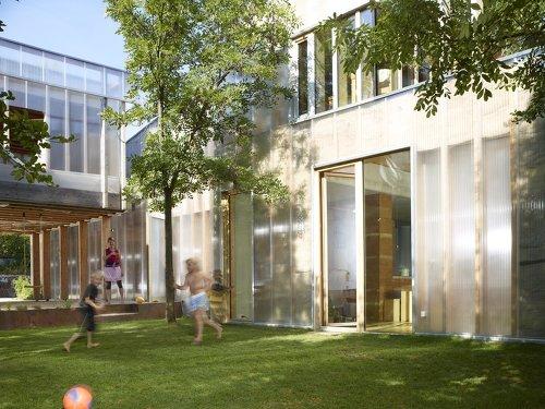Niedrigenergiehaus Gemini+, Foto: Clemens Franke