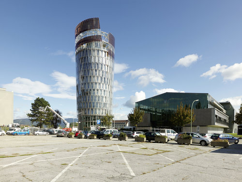 Science Tower Smart City Graz, Foto: Paul Ott