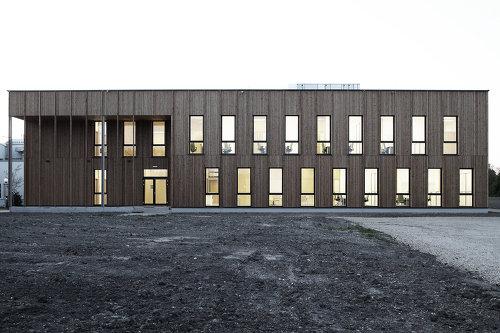 Instituts- und Laborgebäude für Agrarbiotechnologie, Foto: Christian Brandstätter