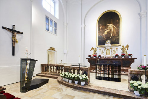 Kirche Nussdorf, Foto: Manfred Seidl