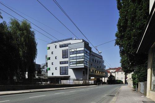 Stadtwerk Lehen Studentenwohnheim, Foto: Herman Seidl