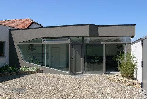 Bürozubau Rohrendorf, Foto: Andreas Hradil
