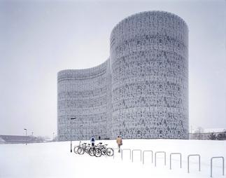 Bibliothek Cottbus, IKMZ BTU, Foto: Margherita Spiluttini