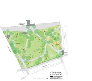 Bruno Kreisky Park, Plan: KoseLicka Landschaftarchitektur