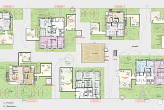 Werkbundsiedlung Wiesenfeld, Plan: Kazunari Sakamoto
