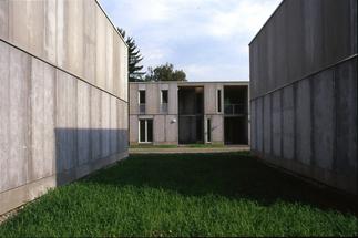 Ökosozialer Wohnbau am Grünanger, Foto: Hubert Rieß