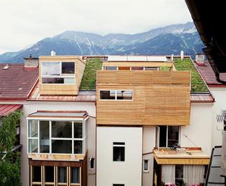 Dachbodenausbau Penthouse, Foto: Lukas Schaller