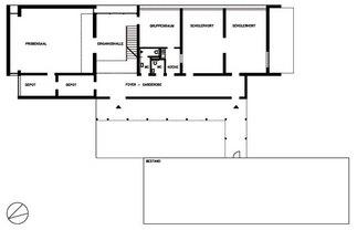Volksschule Grafenstein, Zubau, Plan: Christa Binder