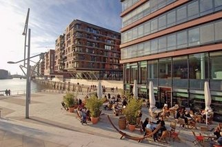 HafenCity Hamburg - Freiräume Magellan- und Marco-Polo-Terrassen, Foto: HafenCity Hamburg GmbH