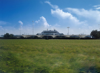 Parkdeck Flughafen Linz, Foto: Dietmar Hammerschmid