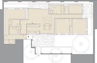 Hofhaus Millergasse, Plan: Froetscher Lichtenwagner