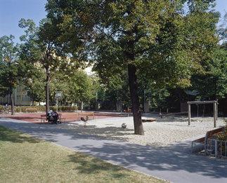 Spielband Höchstädtplatz, Wien, Foto: Pez Hejduk