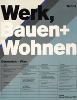 werk bauen wohnen 01 02 1982. Black Bedroom Furniture Sets. Home Design Ideas