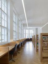 Oberösterreichische Landesbibliothek - Sanierung und Erweiterung, Foto: Stephan Baumann