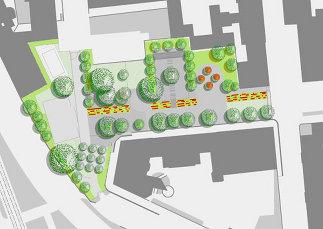 Fritz-Imhoff-Park, Plan: Karl Grimm