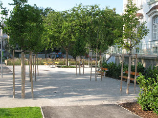 Fritz-Imhoff-Park, Foto: Karl Grimm
