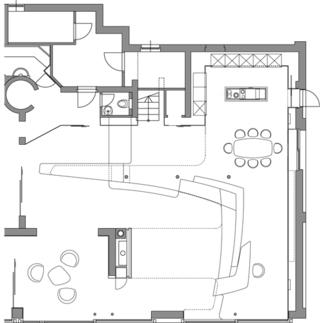 Villa F., Plan: Najjar & Najjar Architects
