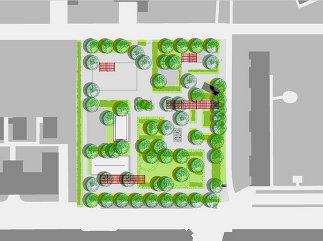 Generationenspielpark Meissnergasse, Plan: Karl Grimm