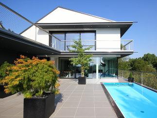 penthaus mit pool karl ziller wildon a. Black Bedroom Furniture Sets. Home Design Ideas