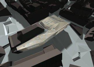 Neues Stadt-Casino Basel, Schaubild: Zaha Hadid Architects