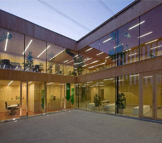 Büro- und Schulungsgebäude, Foto: Simon Bauer