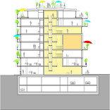 Passivwohnhaus Universumstraße, Plan: querkraft architekten