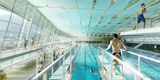 Sport- und Wellnessbad Eggenberg, Foto: Paul Ott