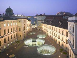 Joanneumsviertel Graz, Foto: Roland Halbe