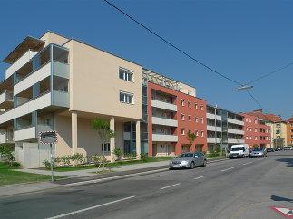 Wohnbau Floßlendstraße, Foto: Eva Mohringer-Milowitz