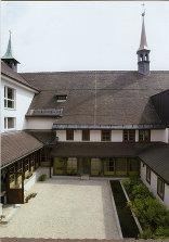 Kapuzinerkloster Innenhof, Foto: Christine Kees