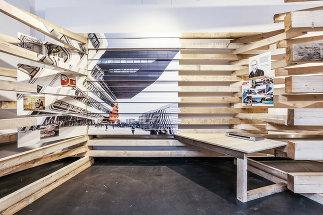 """Ausstellungsgestaltung """"Baukultur"""", Foto: Christian Fürthner"""